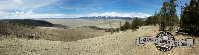 View of South Park from the Colorado Trail. Kenosha Pass, CO