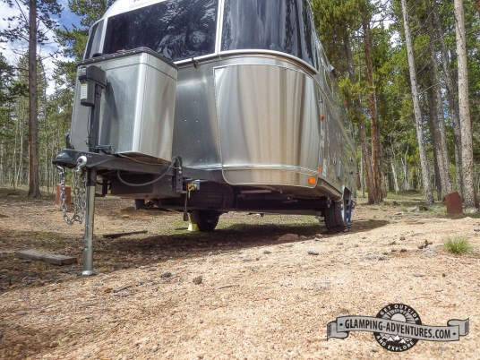 Worst site we've yet to camp at, Kenosha Pass, CO