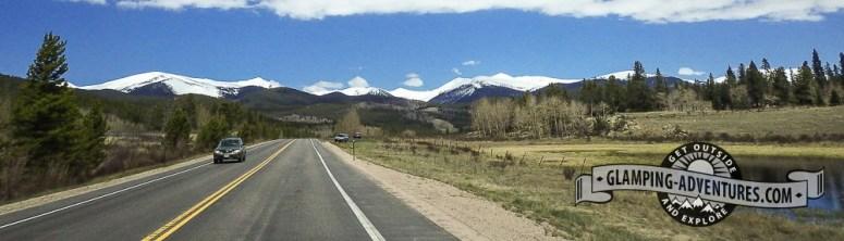 Beautiful drive home. Kenosha Pass, CO