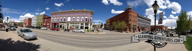 Downtown main street. Leadville, CO