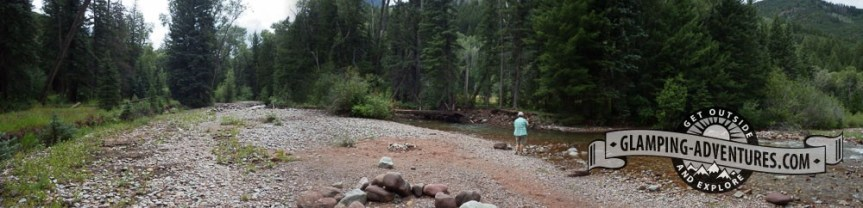 Avalanche Creek had some nice holes.