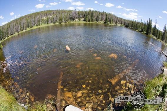 Hourglass Lake, WY
