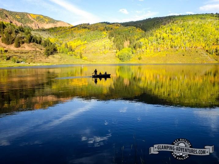 Fishermen at Sylvan Lake S.P.