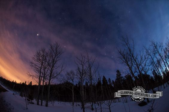 Night sky in Golden Gate Canyon S.P.