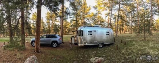 Great campsite at Colorado Campground.