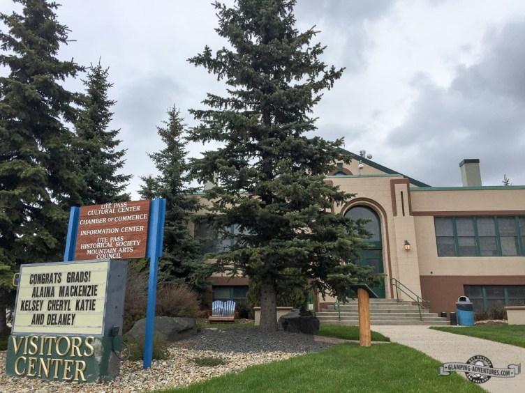 Visitors Center, Woodland Park, CO.