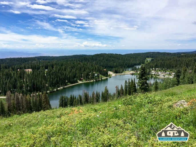 View from top of the trail. Grand Mesa CO.