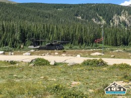 Blackhawk recovery at Brainard Lake, CO.