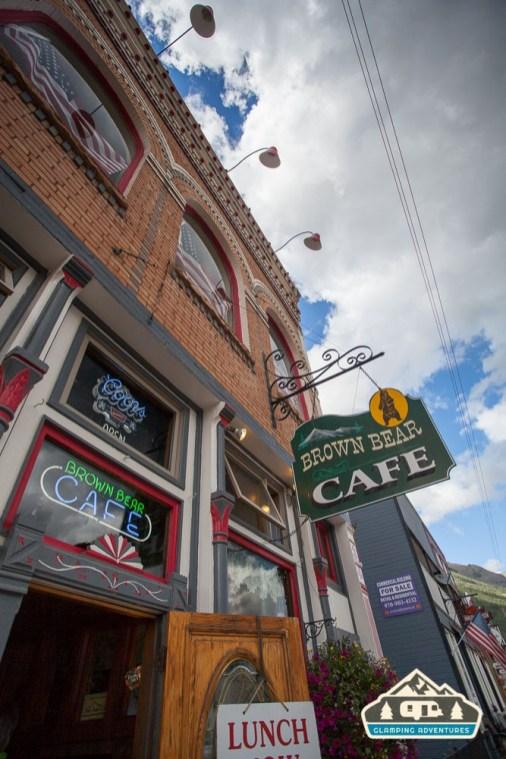 Brown Bear Cafe, Silverton, CO.