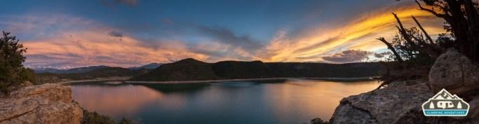 Ridgway Reservoir. Ridgway S.P.