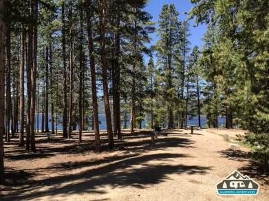 Big, spacious, campsites. Baby Doe C.G. Leadville, CO.