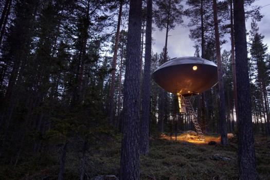 ufo treehotel.se