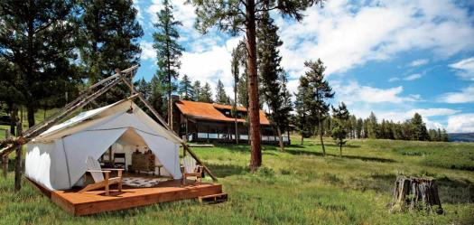 paws up tent n cabin
