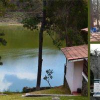 """Camping, Cabañas y hotel en el Parque recreativo """"EL OCOTAL"""", en Timilpan, Estado de México"""