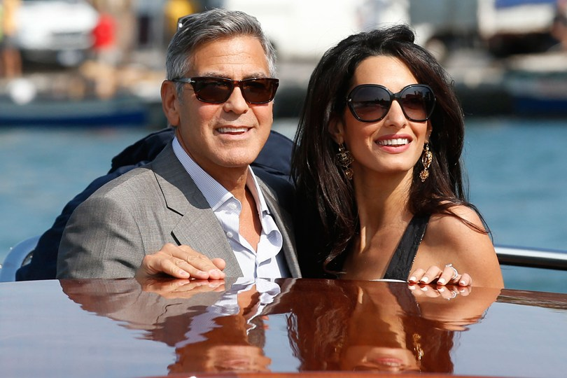 Image result for george and amal