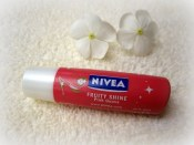 Nivea+Fruity+Shine+Pomegranate+Lip+Balm+Review