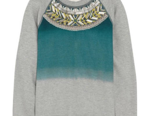 Matthew Williamson Embellished cotton sweatshirt $825
