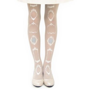 Unus Antique Mirrors Tattoo Tights $43