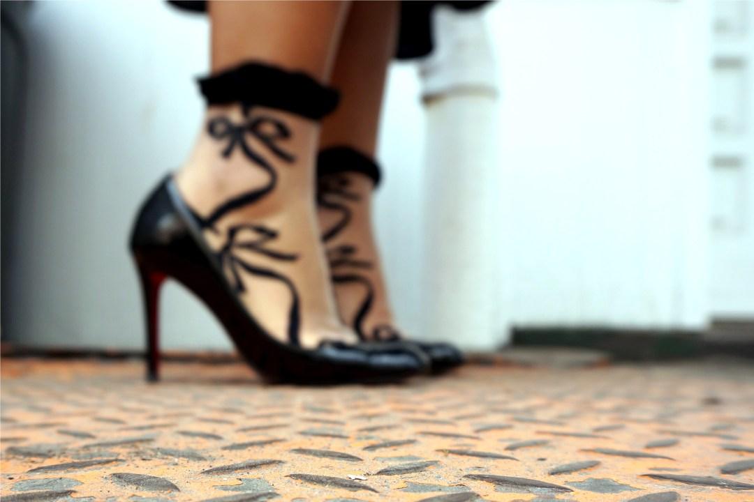 Gigi K Lace Socks