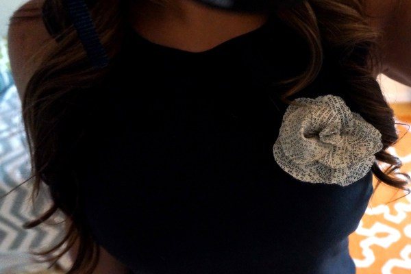 DIY Chanel Camelia Flower Pin
