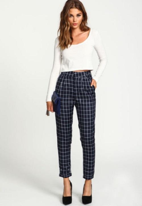 love-culture-grid-pants