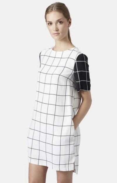 topshop-grid-print-tunic-dress