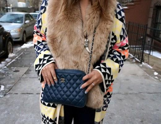 Zara Faux Fur Wrap