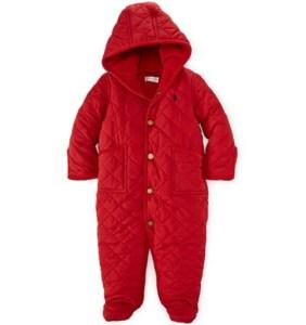 Ralph Lauren Baby Quilted Barn Bunting