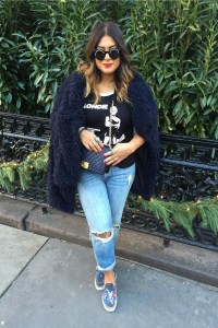 Zara Long Faux Fur Coat