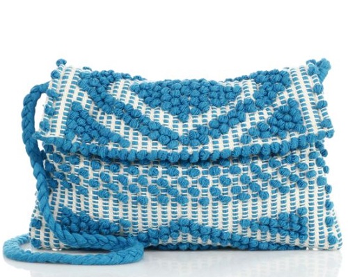 Antonello Suni Rombi Clutch with Strap