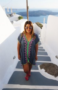 Surf Gypsy Embroidered V Neck Beach Cover Up