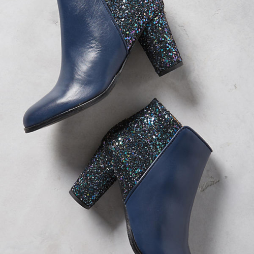 Bobbies La Deluree Glitter Booties