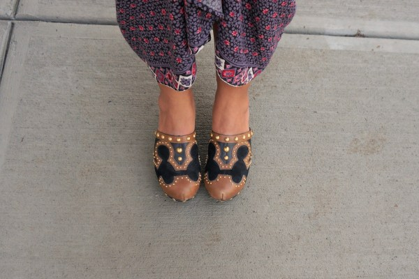 Miu Miu Studded Clogs