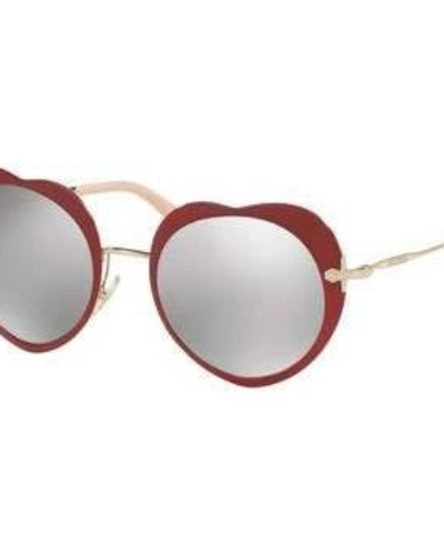 Miu Miu 52MM Heart Sunglasses
