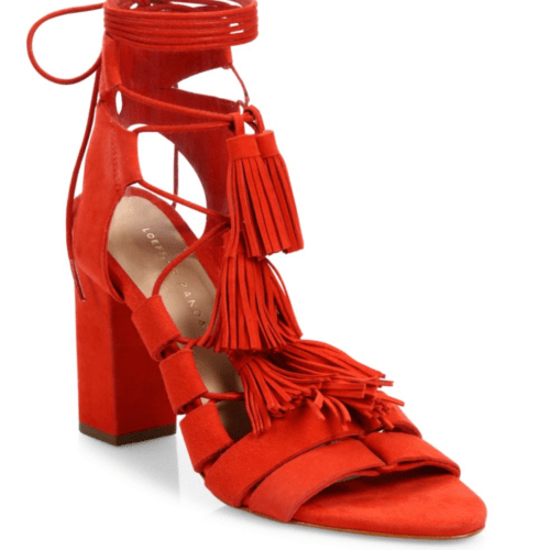 Loeffler Randall Luz Lace Up Sandals