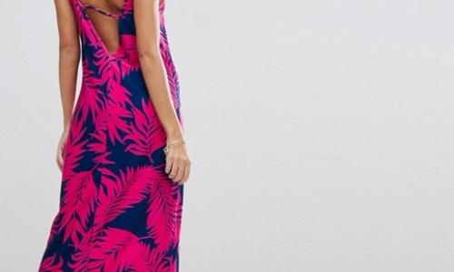 ASOS Maxi Dress With V Back
