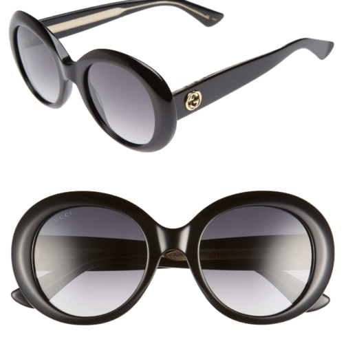 Gucci 51 MM Gradient Lens Round Sunglasses