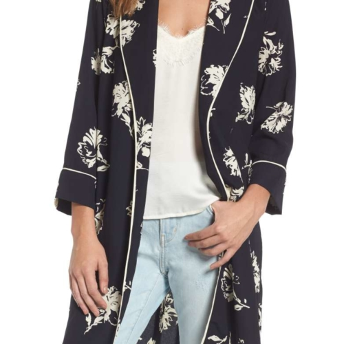 Treasure and Bond Print Kimono