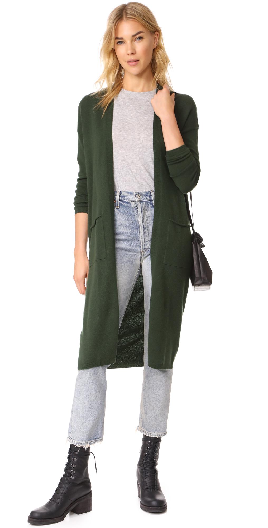 Shopbop Bop Basics Cashmere Duster Sweater Coat
