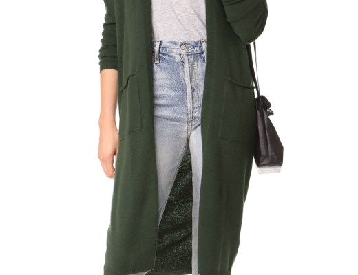 Shopbop Bop Basics Cashmere Duster Sweater Coat