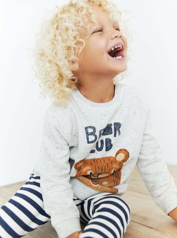 Zara Bear Cub Sweatshirt