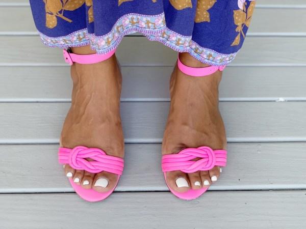 alexandre birman vicky sandals pink