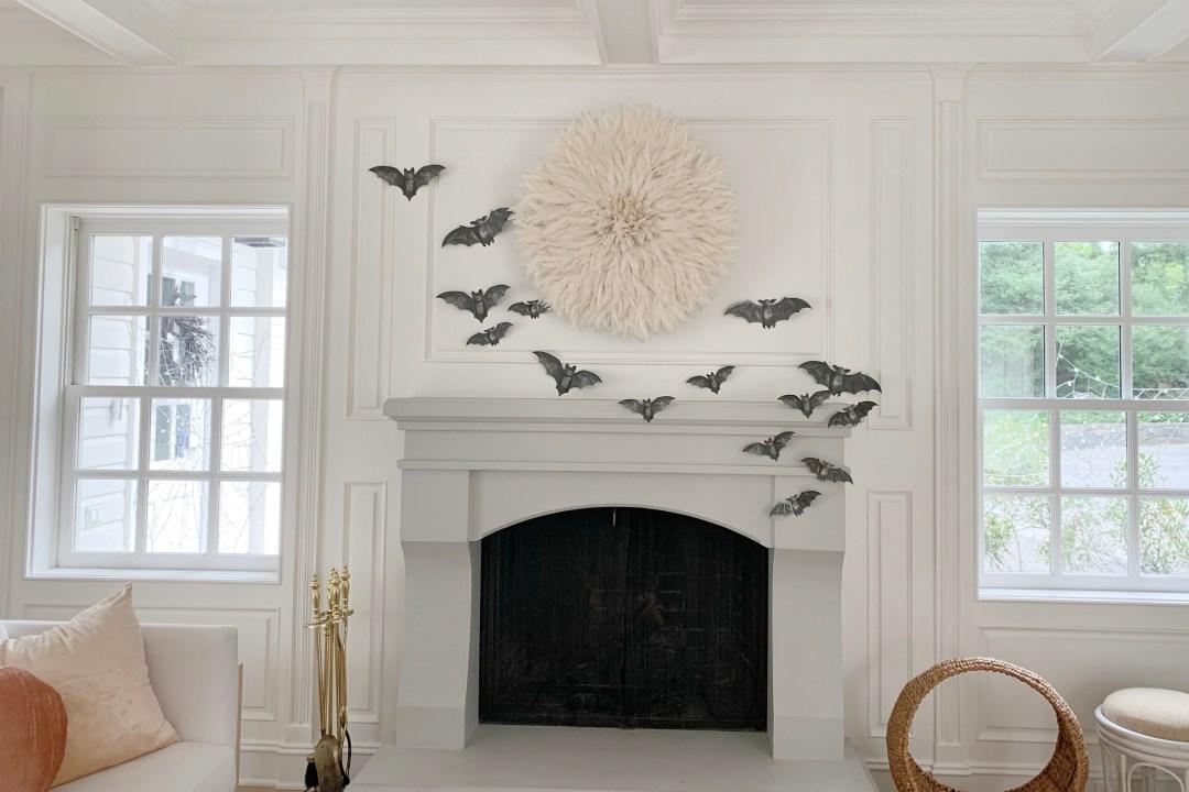 Martha Stewart Paper Bat Silhouette Décor