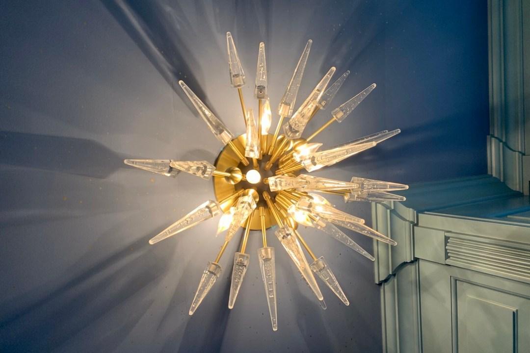 "Hudson Valley Lighting Sparta 6 Light 28"" Wide Semi-Flush Mount"