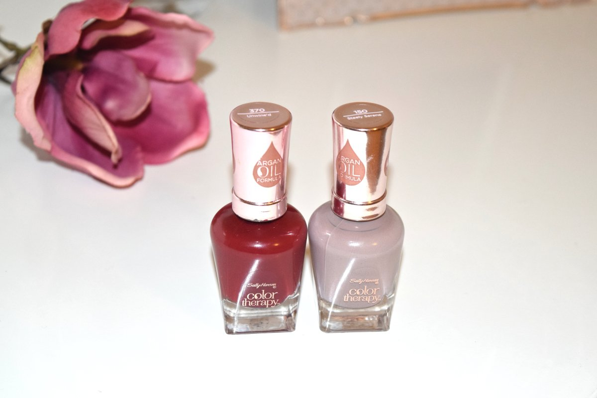 Sally Hansen Color Therapy Argan Oil Formula Review Swatches Glamzeit