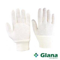 Super Stockinette White Cotton Gloves