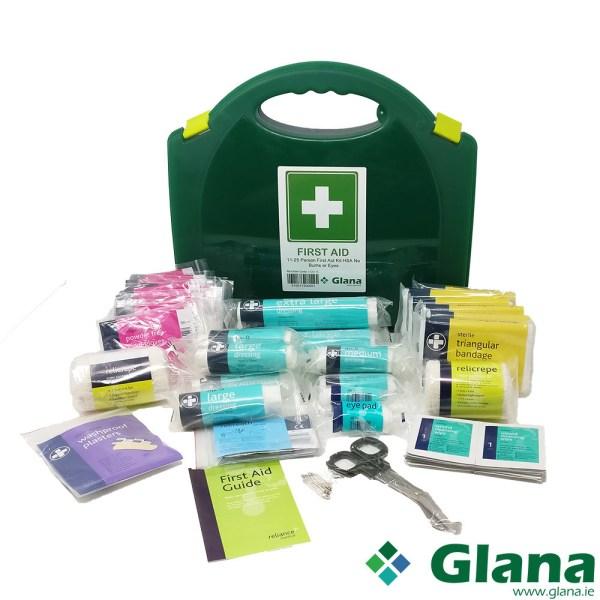 11-25 Person First Aid Kit HSA No Burns & Eye