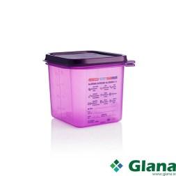 Araven Anti Allergic Polypropylene Airtight Containers