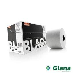 Satino Black system rolls white 2-ply 100 mtr