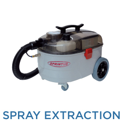 Spray-Extraction Cleaners